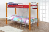 Barcelona Single 3FT Wood & Metal Bunk Bed Frame